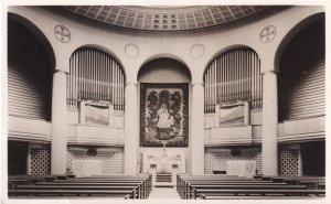 Notre Dame De France Leicester Square Real Photo Organ Postcard