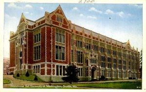WA - Seattle. University of Washington, Educational Hall