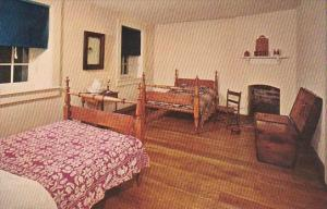Missoury St Louis Bedroom At Laborers House Jefferson Barracks Historical Park