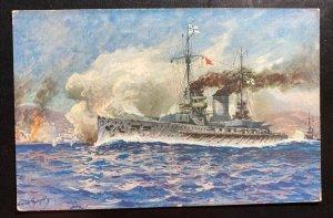 Mint Germany Picture Postcard PPC SM Linear Ship Cruiser Goeben
