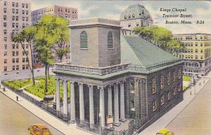 Kings Chapel, Tremont Street, Boston,  Massachusetts, PU-1946