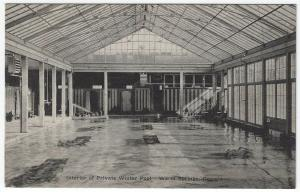 Warm Springs, Georgia,   View of Interior of Private Winter Pool