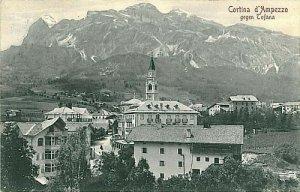 CARTOLINA d'Epoca: BELLUNO - CORTINA D'AMPEZZO