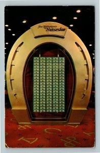 Las Vegas NV- Nevada, Joe W. Brown's Horseshoe Club, Chrome c1953 Postcard