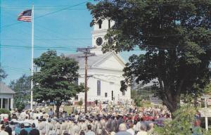 July 4th Parade , Main Street , CHATHAM , Cape Cod , Massachusetts , 50-60s