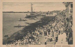 Paramaribo, Suriname, 00-10s ; Waterkant of Konigin-Verjaardag