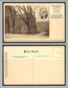 Maine Portland Longfellow House Brown's Bronchial Troches Advertising - [ME-132]