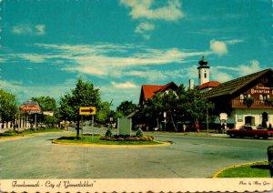 Michigan Frankenmuth City Of Gemuetlichkeit Main Street