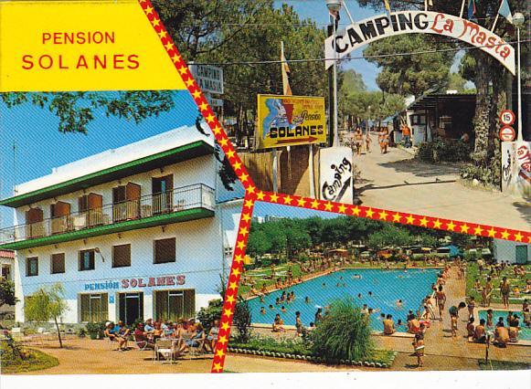 Pension Solanes Camping La Masia Blanes Costa Brava Spain