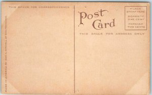 1910s OAKLAND, CA Postcard Southern Pacific Railroad Depot 16th Street Unused