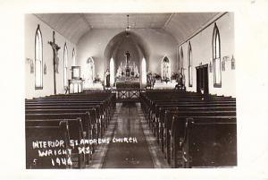 Kansas - St. Andrew's Church, Wright Interior RP 1946