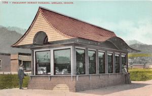 Ashland Oregon~Permanent Exhibit Bldg~Window Displays~Old Man with Beard~c1910