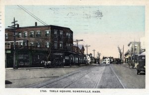 [ New England News ] US Massachusetts Somerville - Teele Square