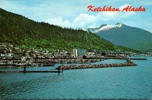 Alaska Ketchikan Waterfront Scene