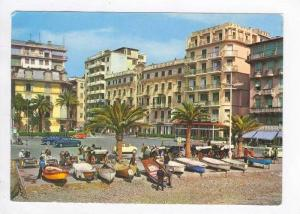 Rapallo, Italy, 50-60s, Albergo Savoia