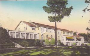 Del Monte Lodge Pebble Beach California Handcolored Albertype
