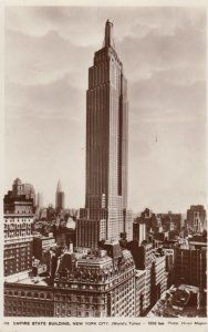 RP: NEW YORK CITY , 1932 ; Empire State Building ; Version-2