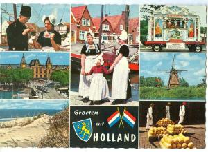 Netherlands, Groeten uit Holland, 1960s unused Postcard