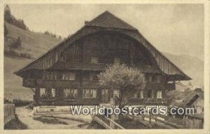 Haus in Diemtigen Schweizer Bauernhauser Germany Unused