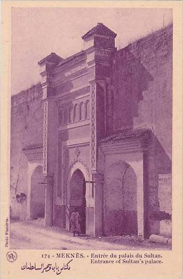 Morocco Meknes Entrance of Sultan's Palace 1920s-30s