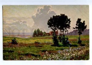 224161 RUSSIA PETERSBURG KALMYKOV Jukki Richard #1190 postcard