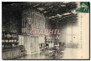 Old Postcard Chateau Meillant The dining room