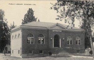 SONOMA , California, 1900-10s ; Public Library