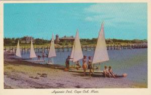 Massachusetts Cape Cod Getting Ready For A Sailboat Race On Cape Cod 1964