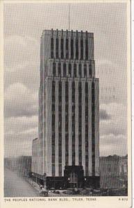 Texas Tyler Peoples National Bank Building 1943
