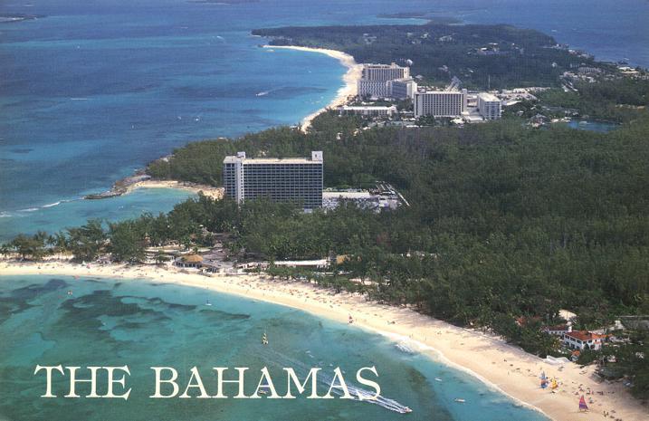 Paradise Beach On Island Bahamas