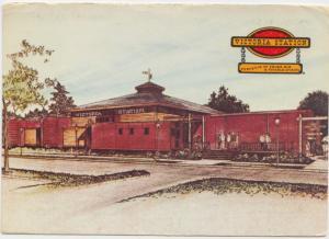 VICTORIA STATION, Restaurants, used Postcard