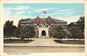 North Carolina  Concord    Central School
