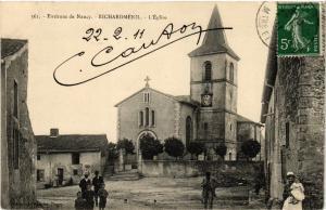 CPA  Richardmenil - Richardménil - Environs de Nancy - L'Eglise  (483848)