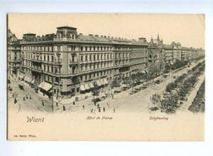 155574 AUSTRIA WIEN Hotel de FRANCE Vintage postcard