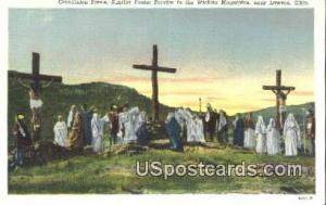 Crucifixion, Wichita Mountains Lawton OK Unused