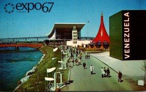 Canada Montreal Expo67 Pavilions Of Venezuela Ethiopia USSR and Morocco 1967