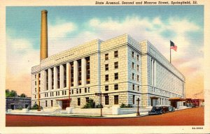 Illinois Springfield State Arsenal Curteich