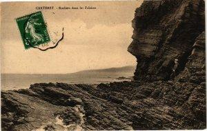CPA CARTERET - Rochers dans les Falaises (138158)