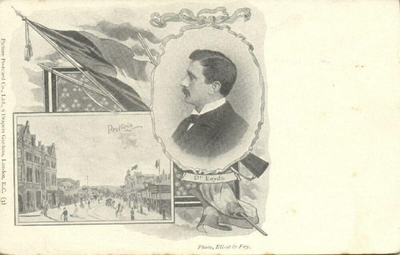 BOER WAR, PRETORIA, Republic's Special Envoy and Minister Dr. Leyds (1899)