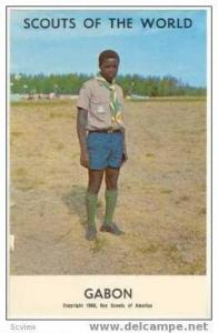 Boy Scouts of the World, GABON SCOUTS, 1968