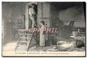 Postcard Old House Ulysses E Balon Suc Blois A Potters manufactures ovens
