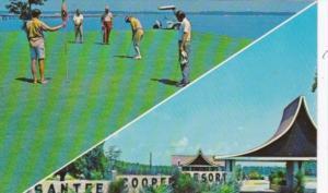 Golf 18 Hole Championship Golf Course Santee-Cooper Resort Santee South Carolina