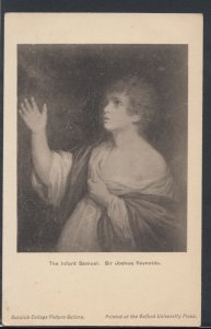 Artist Postcard- Dulwich College -The Infant Samuel, Sir Joshua Reynolds RS10169