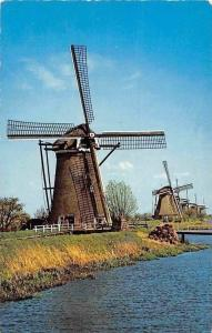 Netherlands Hollandse Molen, Dutch Windmill, Moulin a Vent