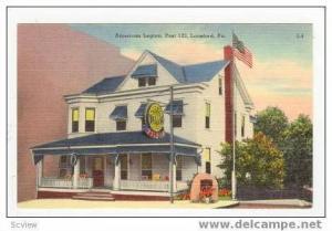 American Legion, Post 123, Lansford, Pennsylvania, 30-40s