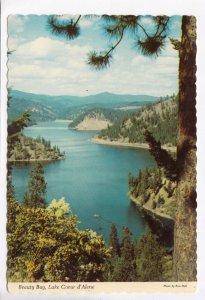Beauty Bay, Lake Coeur d'Alene, 1972 used Postcard