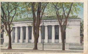 WESTERLY , Rhode Island , 1916 ; Post Office