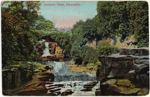1907-1915 New Castle Jesmond Dene UK England Antique Old Saxony DB Postcard