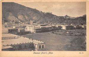Yemen Aden, Steamer Point I