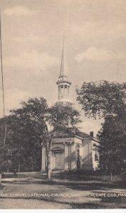 CAPE COD , Mass. , 1930s ; Congregational Church , SANDWICH